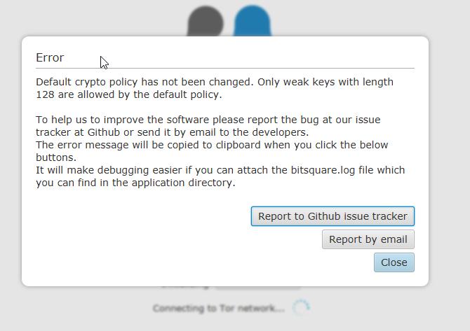 App doesn't start on Windows 10 - Support - Bisq